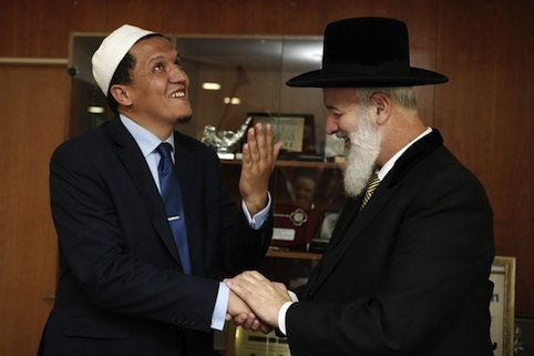 Israel's Ashkenazi Chief Rabbi Yona Mezg
